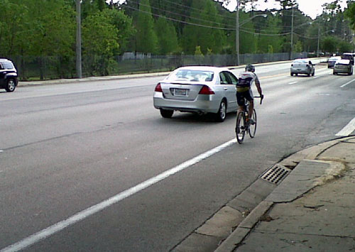 Bike lane use 500